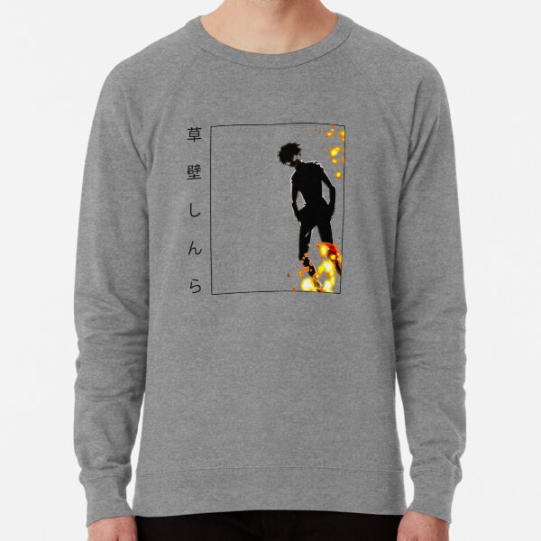Shinra Demon Fire Force Classic Design Lightweight Sweatshirt
