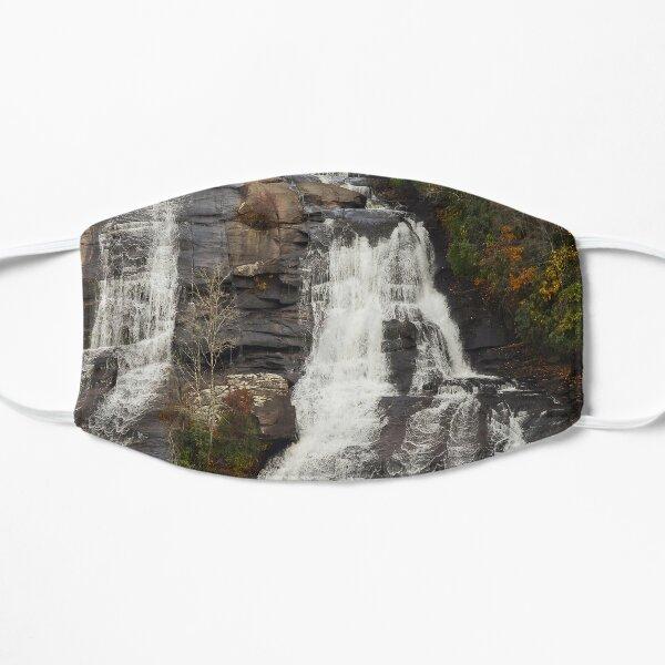High Falls 2 at Dupont State Park Flat Mask