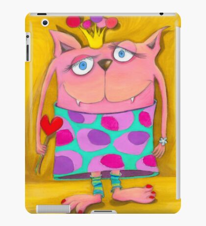 Monster Lady iPad Case/Skin