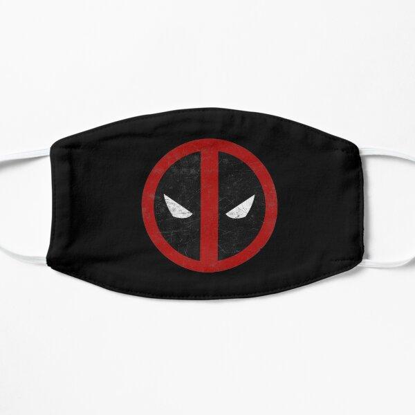 Jour cadeau hommes femmes masque de Deadpool classique en détresse Masque sans plis