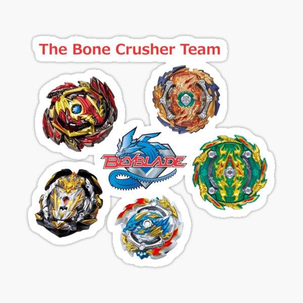 Knochenbrecher-Team Sticker