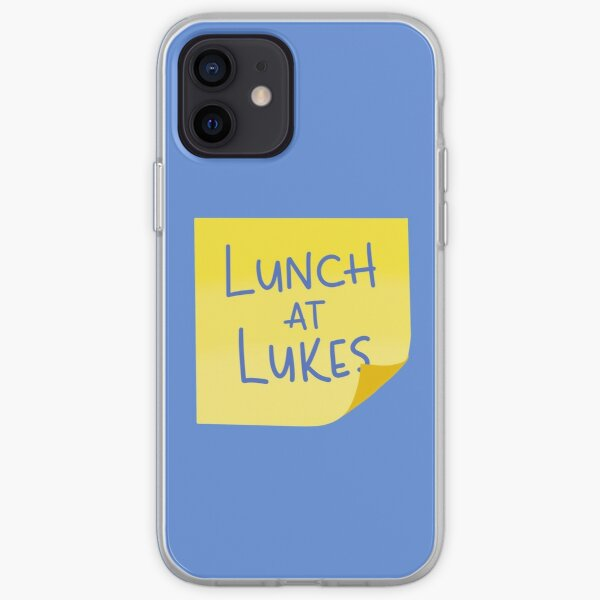 Lunch at Lukes Sticky Note iPhone Soft Case