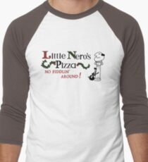 Little Nero's Pizza Men's Baseball ¾ T-Shirt