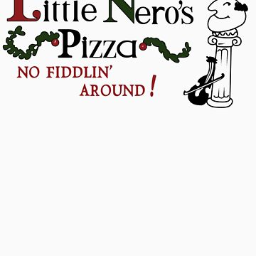 Little Nero's Pizza by ironsightdesign