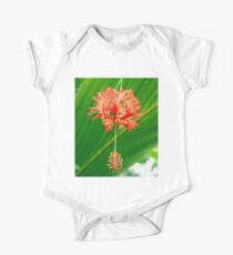 Red Hanging Flower Bloom Kids Clothes
