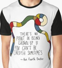 Tom Baker childishness Graphic T-Shirt