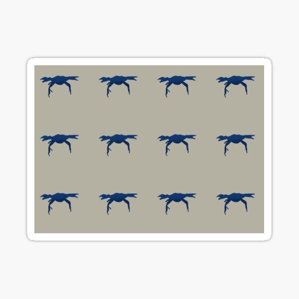 Crab Pattern Sticker