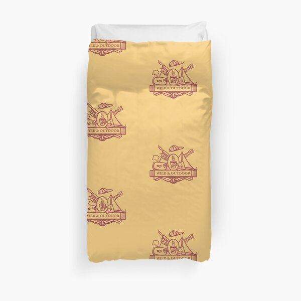 Wild and Outdoor Duvet Cover