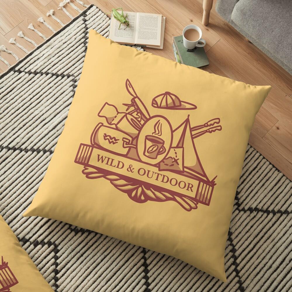 Wild and Outdoor Floor Pillow