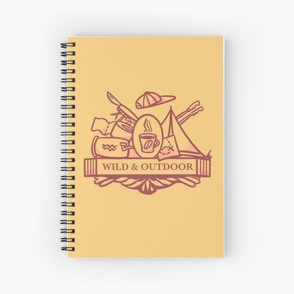 Wild and Outdoor Spiral Notebook