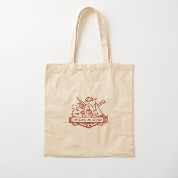 Wild and Outdoor Cotton Tote Bag