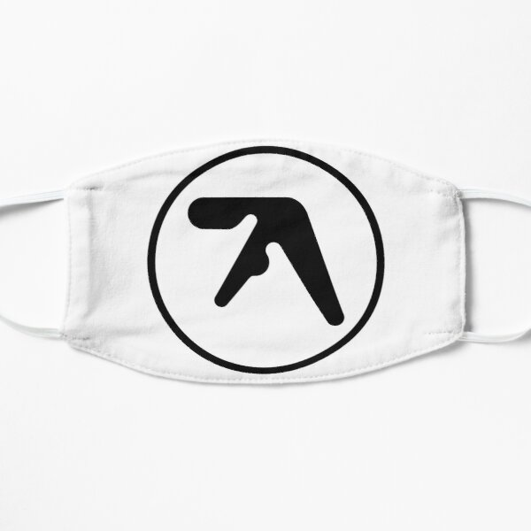 [HIGH QUALITY] Aphex Twin Logo (black version) Mask