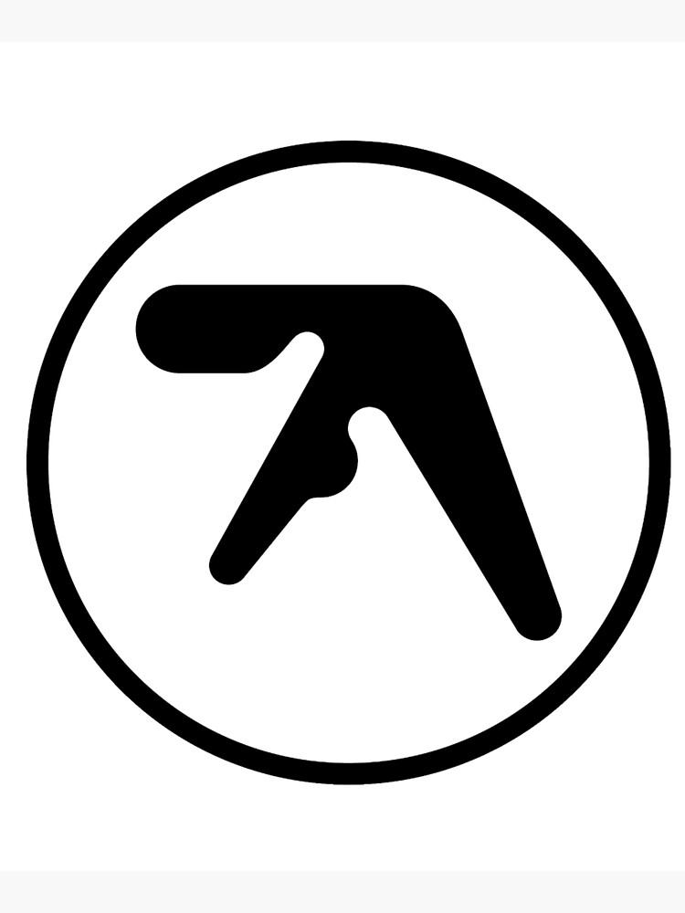 [HIGH QUALITY] Aphex Twin Logo (black version) by Xelfeer