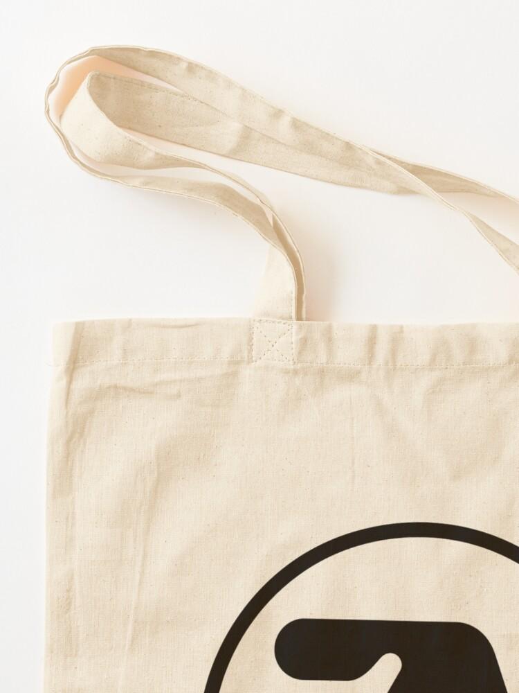 Alternate view of [HIGH QUALITY] Aphex Twin Logo (black version) Tote Bag