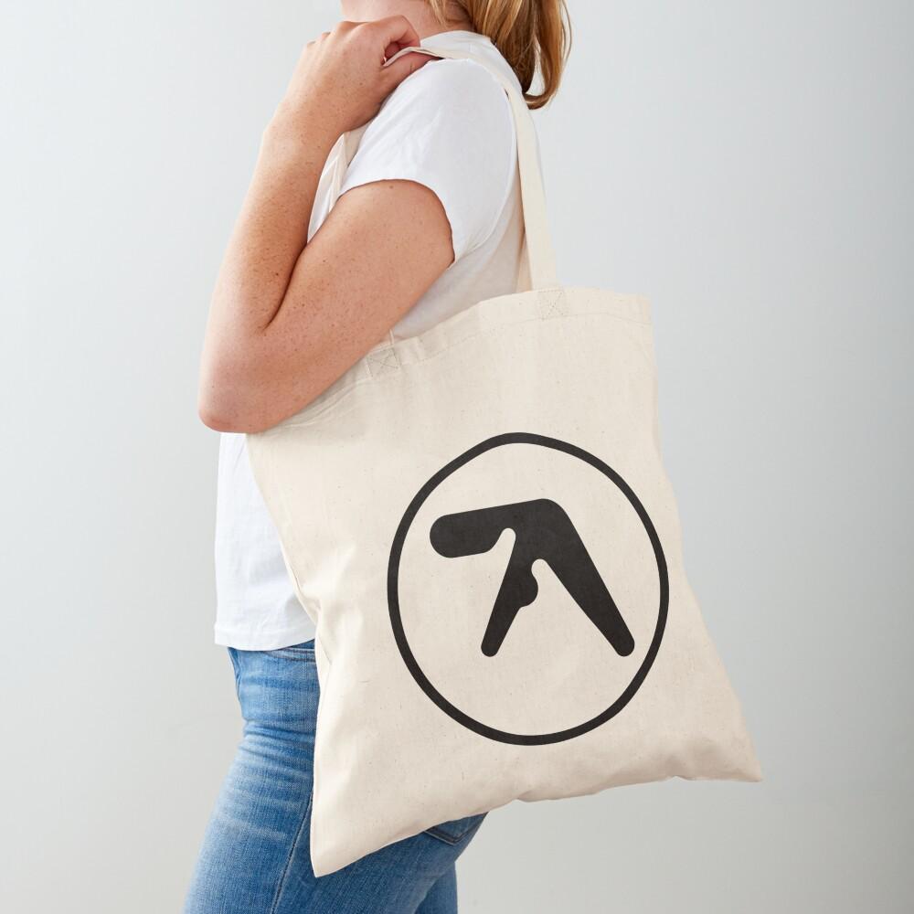 [HIGH QUALITY] Aphex Twin Logo (black version) Tote Bag