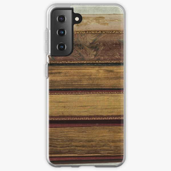 Stack of antique books Samsung Galaxy Soft Case
