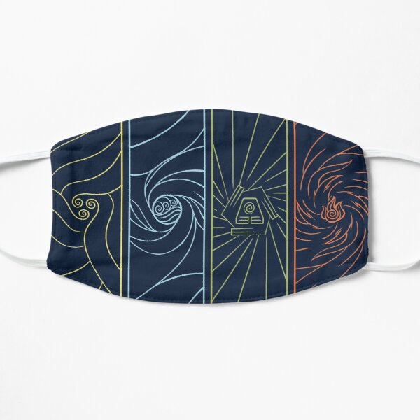 Minimalist Elemental Bending Mask