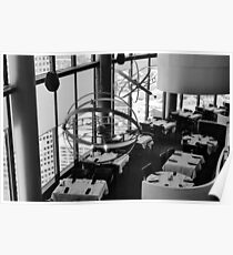The restaurant at the top of the world Poster