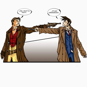 Captain Reynolds vs The Doctor by DarkManZero