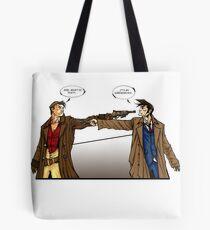 Captain Reynolds vs The Doctor Tote Bag