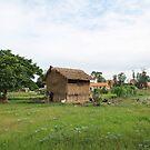A Hut in Cambodia by NinaJoan