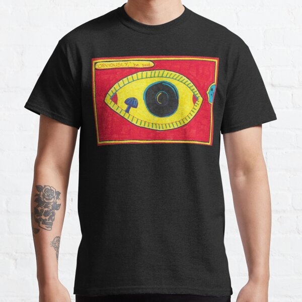 Obviously - Eye with Mushroom Classic T-Shirt
