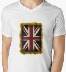 British  Men's V-Neck T-Shirt
