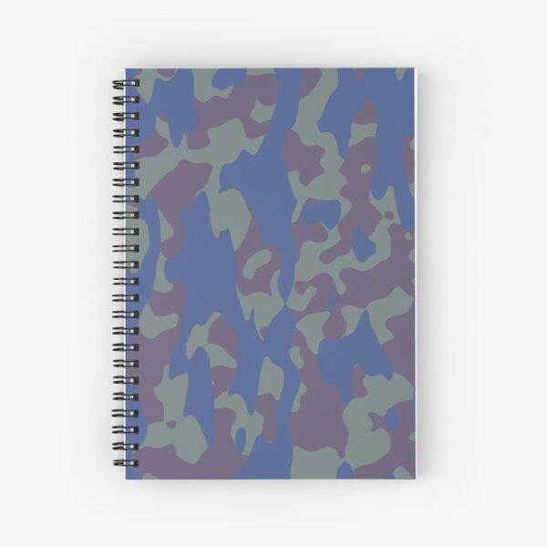Camo Spiral Notebook