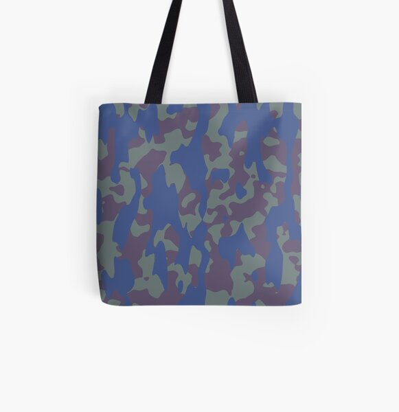 Camo All Over Print Tote Bag