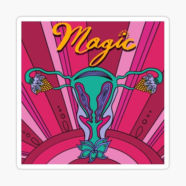 MAGIC UTERUS Sticker