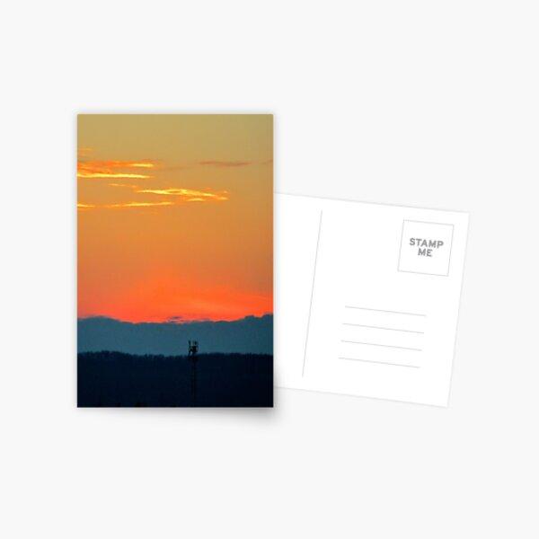 Sunrise Over The Niagara Escarpment Postcard