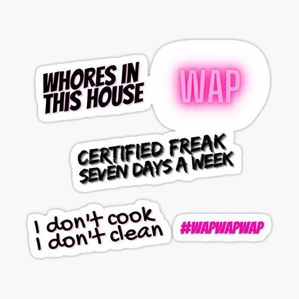 Pack d'autocollants WAP Sticker