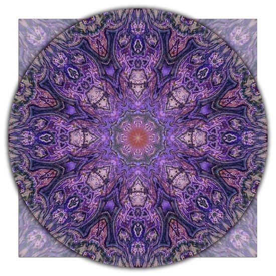 """Crown Chakra Mandala 2d"" by haymelter | Redbubble"