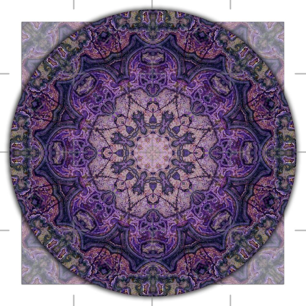"""Crown Chakra Mandala 2c"" by haymelter | Redbubble"