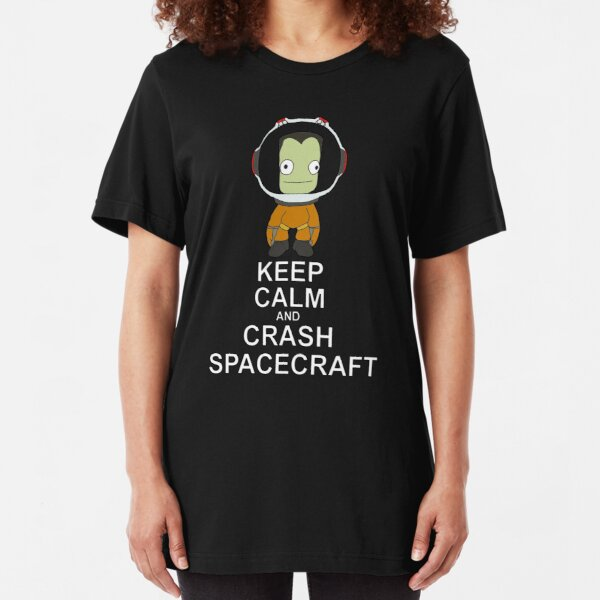 Kerbal Space Program Slim Fit T-Shirt