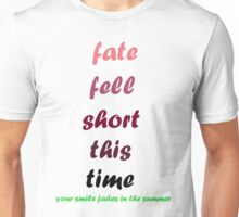 blink-182 - Fate Fell Short Unisex T-Shirt