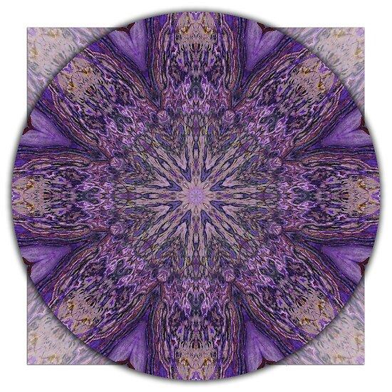 """Crown Chakra Mandala 1c"" by haymelter | Redbubble"