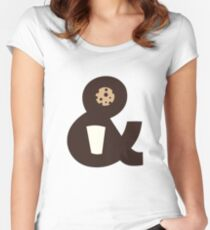 Milk & Cookies Women's Fitted Scoop T-Shirt