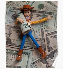 Woody Rollin in the Cash Poster
