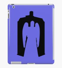 Weeping Angel with Tardis iPad Case/Skin