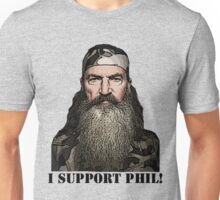 I Support Phil Unisex T-Shirt