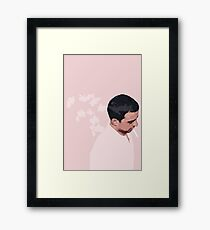 Butterfly Guy Framed Print
