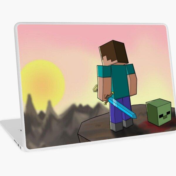 Minecraft Vinilo para portátil