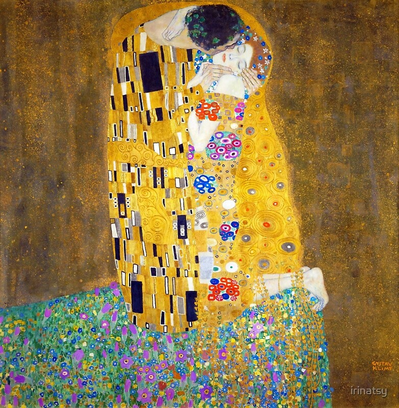 Gustav Klimt - The Kiss\