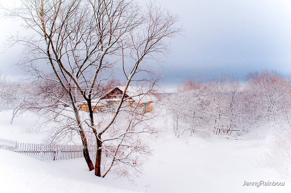 Village under the Snow. Russia by JennyRainbow