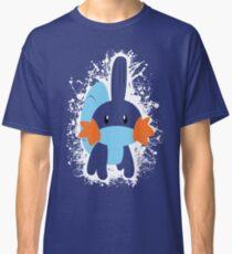 Mudkip Splatter Classic T-Shirt