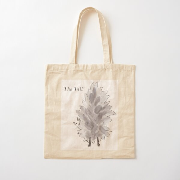 The Tail Cotton Tote Bag
