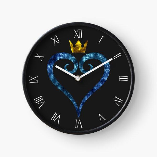 Kingdom Hearts Logo (Galaxy Design) Clock