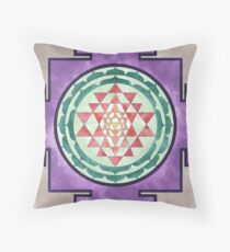 Sri Yantra 04 Throw Pillow