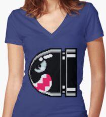 Bullet Women's Fitted V-Neck T-Shirt